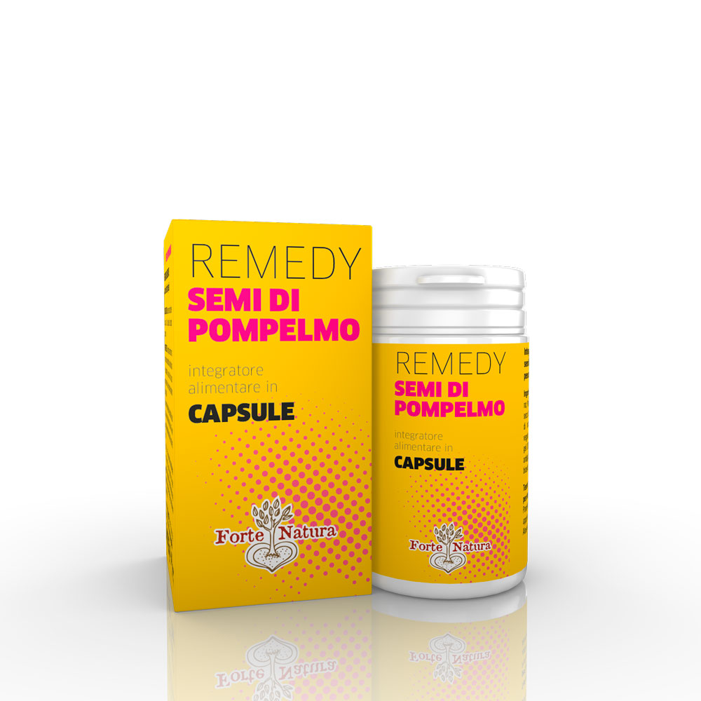 REMEDY SEMI DI POMPELMO capsule
